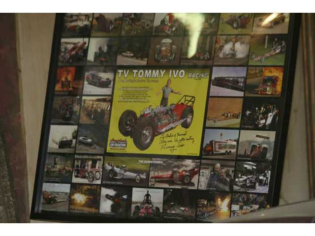 "A display featuring images of ""TV"" Tommy Ivo filming various productions including TV shows and movies was added to the rare artifacts in the Melody Ranch Motion Picture Studio Museum. Many of Ivo's on-screen appearances were filmed at Melody Ranch."