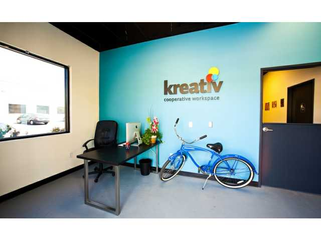Kreativ Cooperative Workspace allows designers, programmers, writers, photographers and other budding professionals to work together in a shared environment.