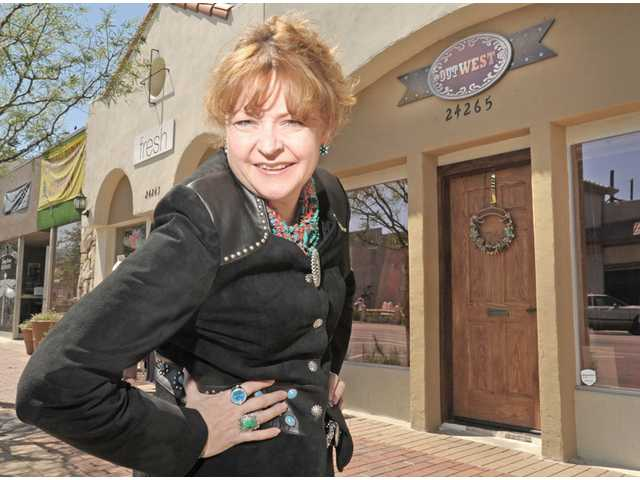 Bobbi Jean Bell of OutWest in Newhall was recently named Woman of the Year by California state Sen. Sharon Runner, who represents portions of the Santa Clarita Valley.