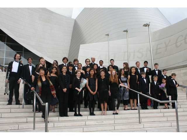 Santa Clarita Valley Youth Orchestra at Walt Disney Concert Hall.