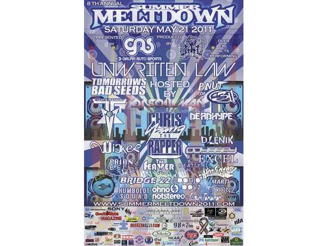 Golden Valley High School grad and former Yes I Can mentor Peter Yahiayan's Eye Finity Printing in Los Angeles donated about $10,000 in printed items to the 2011 Summer Meltdown, including the main event poster.