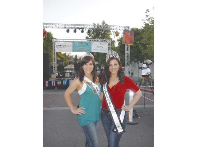 The mother-daughter duo recently made a royal appearance at the Cinco de Mayo celebration in downtown Newhall.