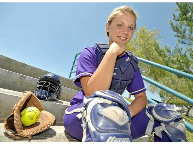 Valencia junior catcher Karlie Habitz's improved mind-set has helped the Vikings during a trying Foothill League season and to a pair of wins in the CIF-Southern Section Division I playoffs. She's hitting .395 with 26 RBIs and four home runs.