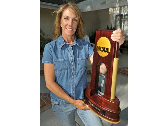 UCLA women's head golf coach Carrie Forsyth, a Valencia resident and 1989 Canyon High graduate, led the Bruins to their second national championship on May 21.