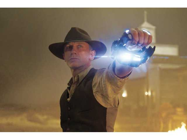 """Cowboys & Aliens"" opens July 29."