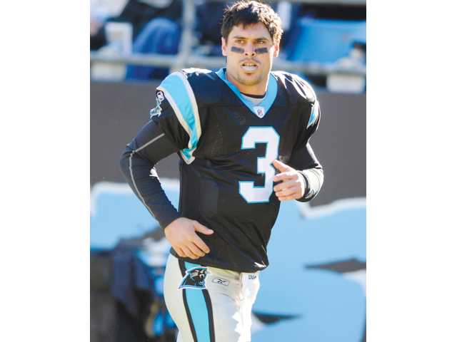 The Panthers extended Hart graduate Matt Moore a one-year contract offer hours before the NFL lockout hit, meaning he couldn't sign. It's just one of the obstacles Moore is trying to overcome.