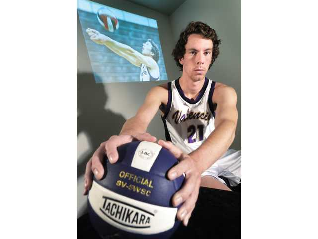 Valencia senior outside hitter Broc Oppler was the best of a talented bunch and helped the Vikings set the state record for consecutive league wins.