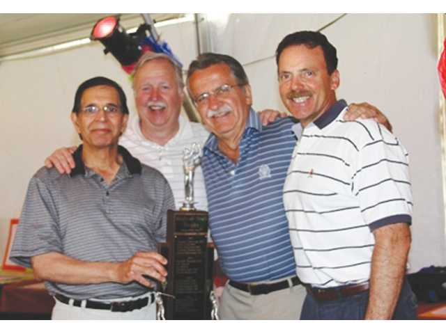 The Rear Enders medical-staff golf team included Rajinder Kaushal, MD; Mark Rocke; David Mysko, MD; Jim Pietsch; and Michael Quon, M.D.