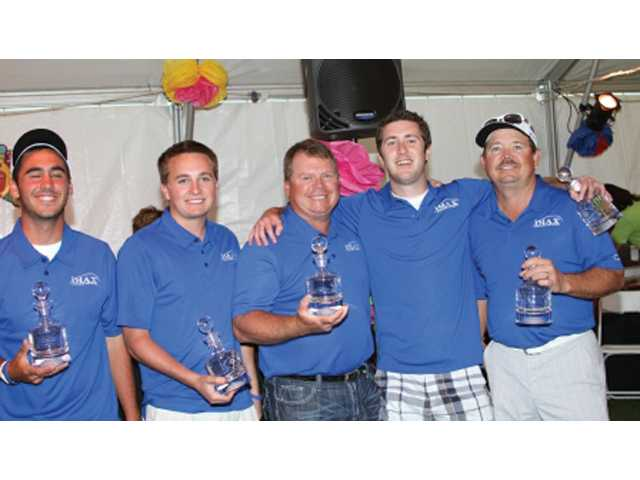 The IMAX Bancard team, consisting of Alex Macaluso, Patrick Cain, Jerry Cain, Travis Cain and Mike Cain, took first place gross.