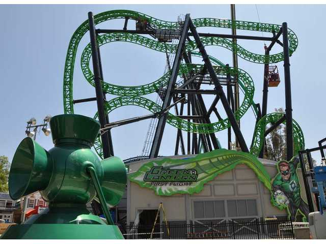 Green Lantern: First Flight is set to debut Friday, July 1 at Six Flags Magic Mountain.