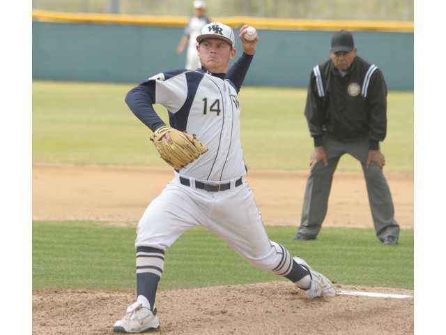 West Ranch pitcher and senior-to-be J.C. Cloney.