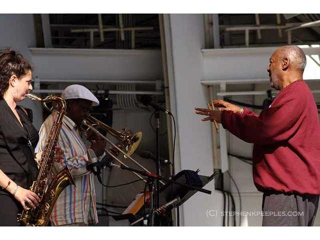 The 33rd annual Playboy Jazz Festival presented a diverse lineup of artists at the Hollywood Bowl on Saturday and Sunday, June 11 and 12, including the Cos of Good Music featuring Anat Cohen (left) George Bohannon (center) and leader Bill Cosby (right).