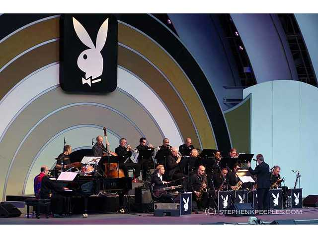 Grammy-winning arranger Bill Cunliffe led the Resonance Big Band on Sunday, June 12, during the 33rd annual Playboy Jazz Festival at the Hollywood Bowl.