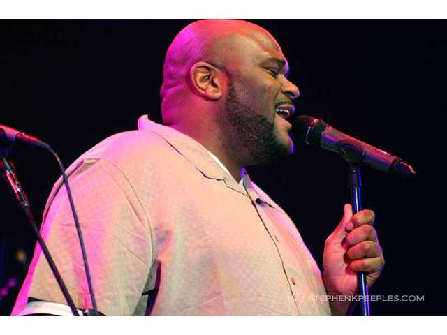 "Ruben Studdard of ""American Idol"" renown joined Fourplay as a guest vocalist at the 33rd annual Playboy Jazz Festival at the Hollywood Bowl on Saturday, June 11."