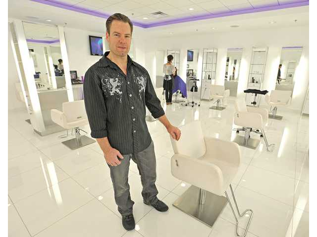 Dan Csicsai, co-owner of Salon Glo in Valencia, was recently nominated for an award to be presented by the Professional Beauty Association's North American Hairstyling Awards.