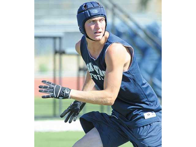Future Saugus senior Curtis Kahovec plans to play varsity football and baseball next season.