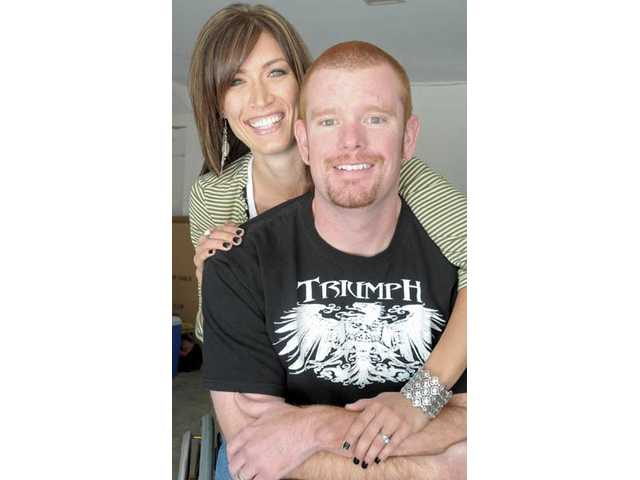 Tiffany and Kevin Mather, of Valencia, received a life-changing shock when Kevin Mather was rendered a paraplegic following a hit-and-run bicycle accident on July 3, 2009.