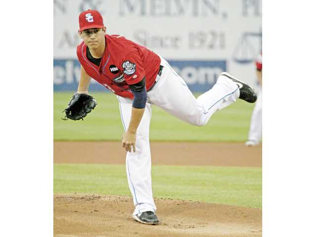 Saugus graduate Tom Milone made today's Triple-A All-Star Game in Salt Lake City as a member of the Syracuse Chiefs.