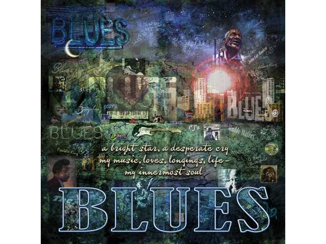 """Blues""  by Evie Cook."