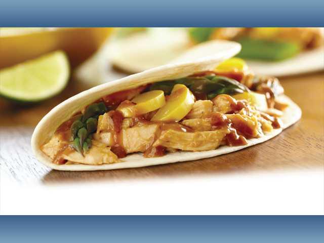 Wushu chicken taco
