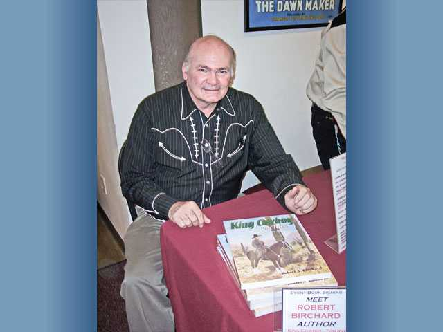 "Robert Birchard, author of ""Tom Mix, King Cowboy."""
