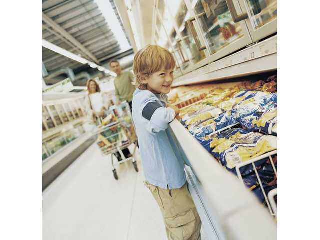 Your grocer's freezer section