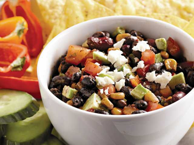 Southwestern bean salsa