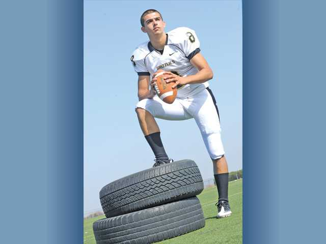 Golden Valley quarterback Reid Soliman readies for senior season.