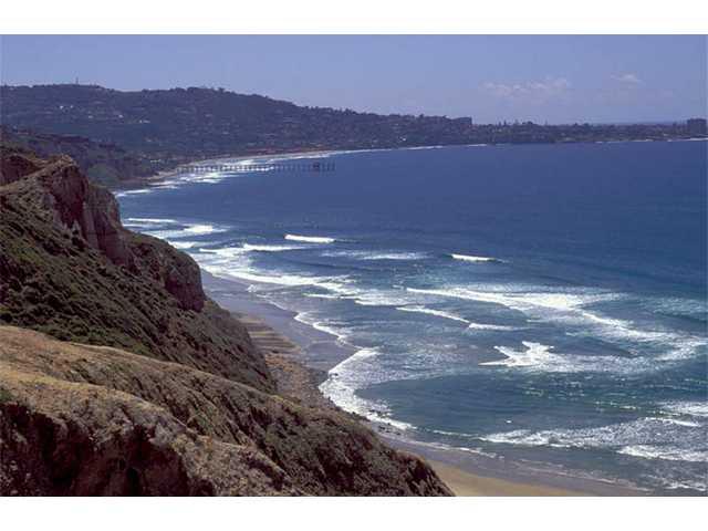 La Jolla's dramatic shoreline