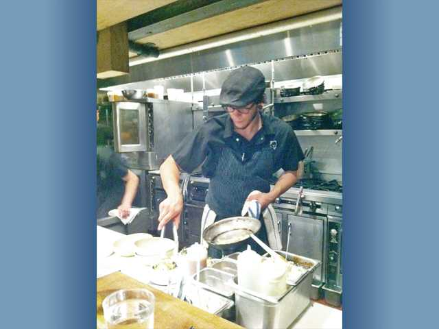 On occasion, Moniz works the line at Girl & The Goat. He previously worked as a head chef in Santa Barbara.