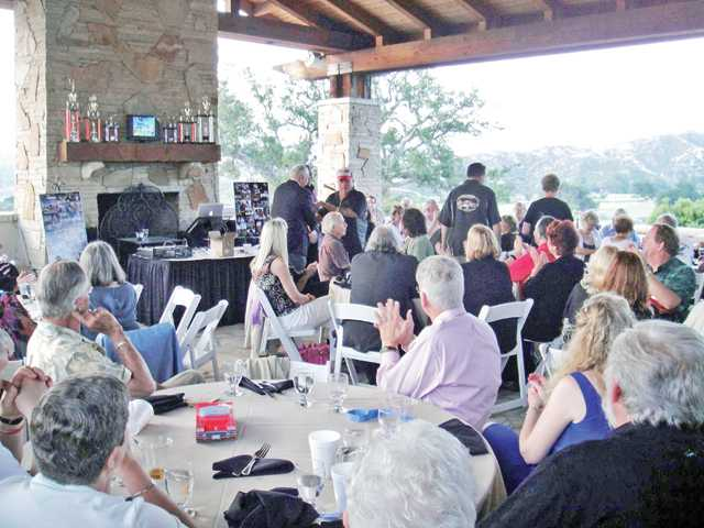 Members of the Santa Clarita Valley Corvette Club celebrated the club's 30th anniversary with a dinner-dance held at Robinson Ranch Country Club in Canyon Country.