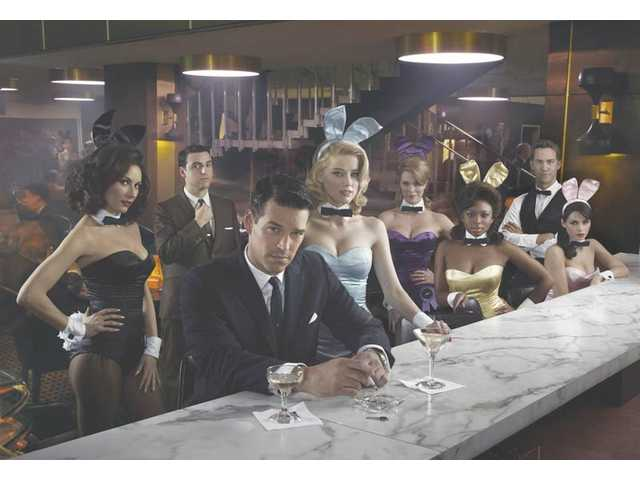 """The Playboy Club."" L-R, Laura Benanti as Carol-Lynne, David Krumholtz as Billy, Eddie Cibrian as Nick, Amber Heard as Maureen, Leah Renee as Alice, Naturi Naughton as Brenda, Wes Ramsey as Max."