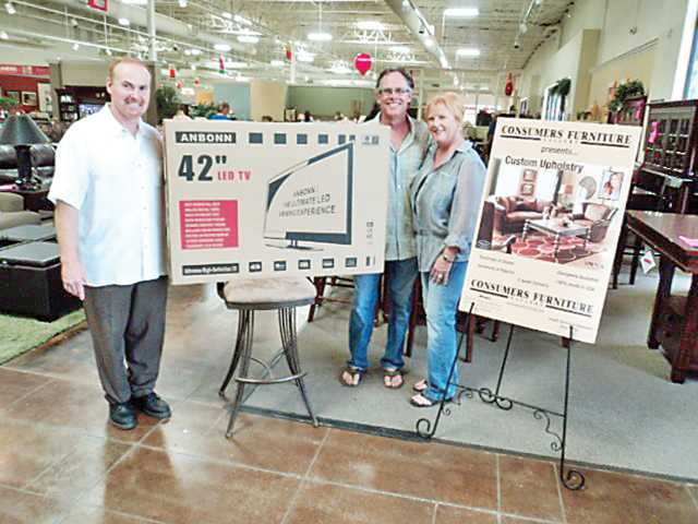 Consumers Furniture gives away energy efficient TV