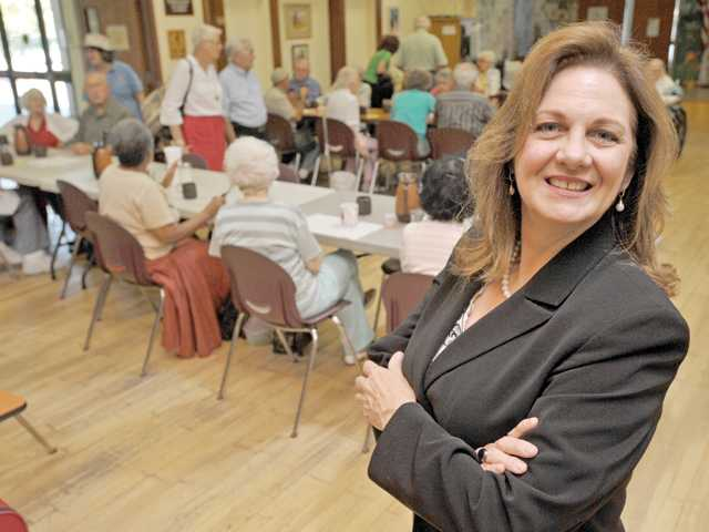 Rachelle Dardeau is the new executive director of the Santa Clarita Valley Senior Center.