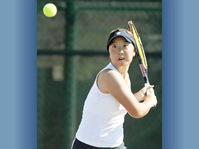 Golden Valley's Rebecca Ho is one of the Foothill League's best singles players, and she'll try to help the Grizzlies reach the CIF-Southern Section Division III postseason.