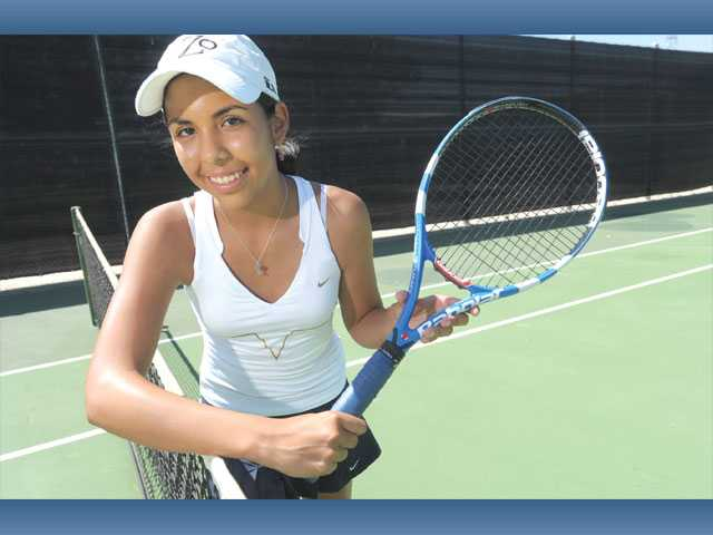 West Ranch junior Ana Cecilia Fuentes is the team's No. 1 singles player this season, and she has her sights set on dethroning Valencia and leading the Wildcats to an outright Foothill League title.