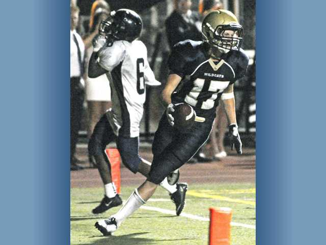 West Ranch football: 4-for-4