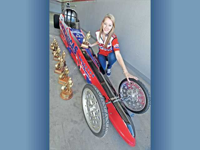 Canyon High graduate Kaitlyn McGee won the NHRA Jr. Dragster Division 7 Series Championship in 2007 for the 13-14 age group, and she won it again in 2009 in the Jr. Comp group.