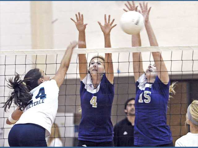 Foothill League girls volleyball: Valencia continues rebound