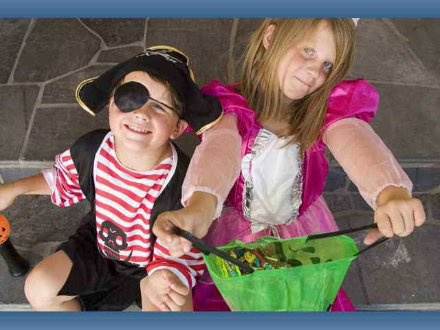 Young trick-or-treaters should have their routes mapped out by parents beforehand and never approach a stranger's home.
