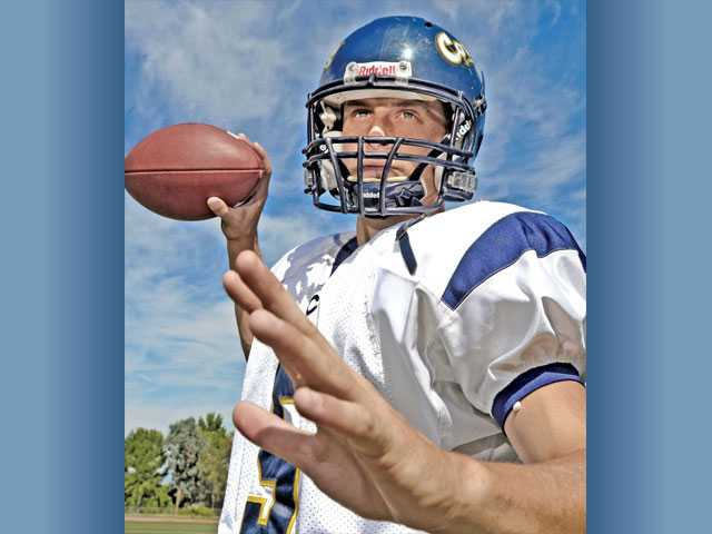 College of the Canyons quarterback Chris Rini started as a freshman in high school in Florida, but he let his grades slip away in the process. Now, he's trying to recapture his dream of playing at a four-year institution.