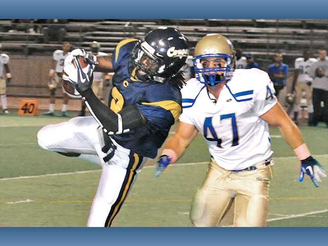 COC football: Canyons coughs up the game