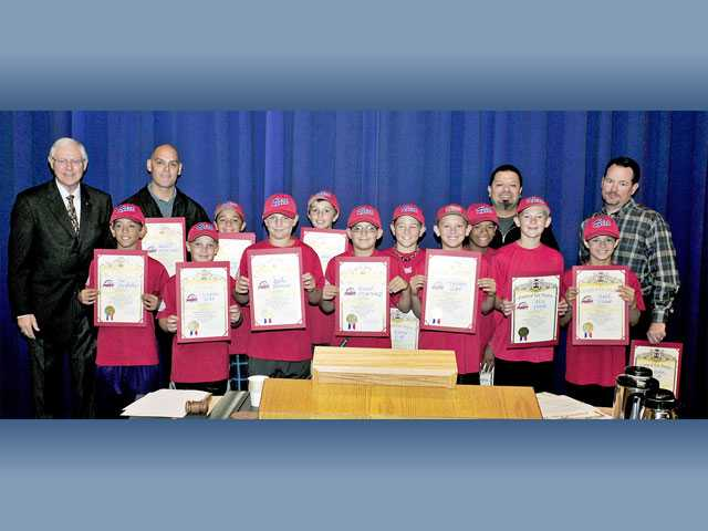 Supervisors honor local PONY league team