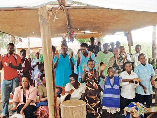 Residents of the village of Kabetemere, district of Isingiro, Uganda, are the beneficiaries of fundraising efforts by St. Clare's Mission Circle #274.