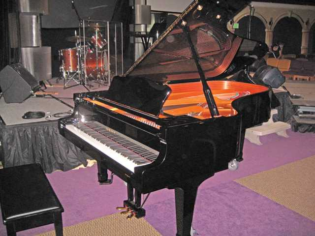 The C7 Yamaha Concert Grand.