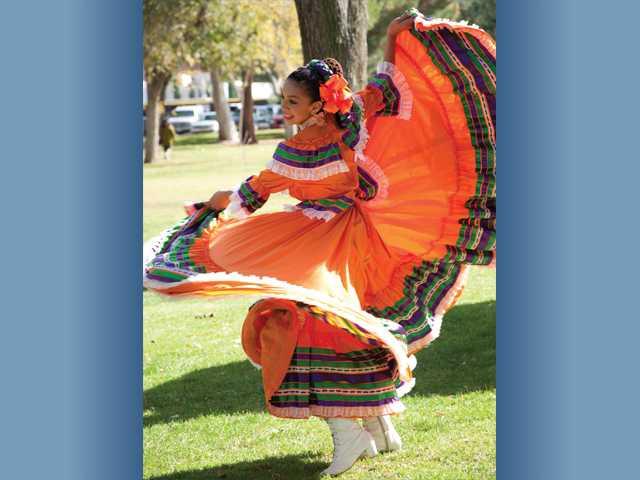 Marlene Ruiz, 13, of Palmdale, performs with Ballet Folkorico Divas del Desierto.