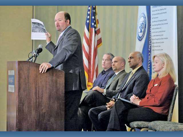 Chamber talks commerce