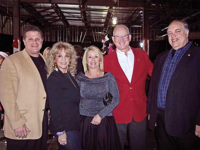 "Anthony Miles, Patricia McKeon, Gina Miles and Congressman Howard ""Buck"" McKeon, R-Santa Clarita."