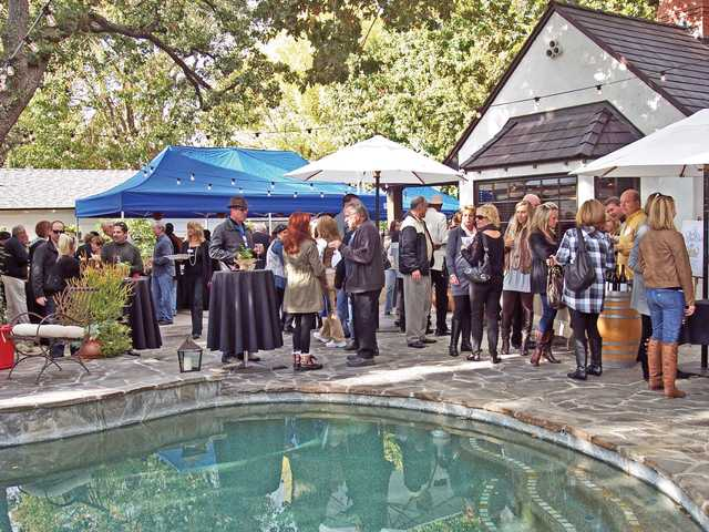 A sold out crowd enjoyed Sunset in the Vineyard held at a private estate in Newhall.