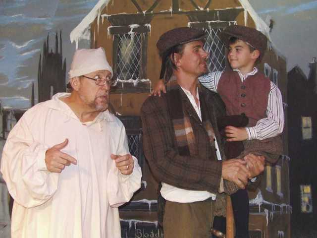 """""""A Christmas Carol, the Musical"""" continues at the Canyon Theatre Guild in Newhall."""